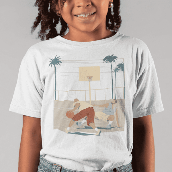 Youth Crossover White T-Shirt