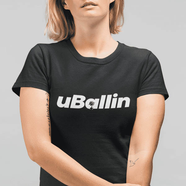 Women's uBallin Black T-Shirt