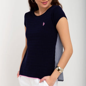 Bluza Femei US POLO ASSN Evening Blue