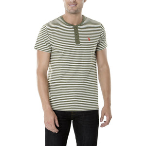 Tricou US POLO ASSN Henley - Tricouri Barbati US POLO ASSN