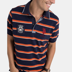 Tricou Polo US POLO ASSN Stripe - Tricouri Barbati US POLO ASSN