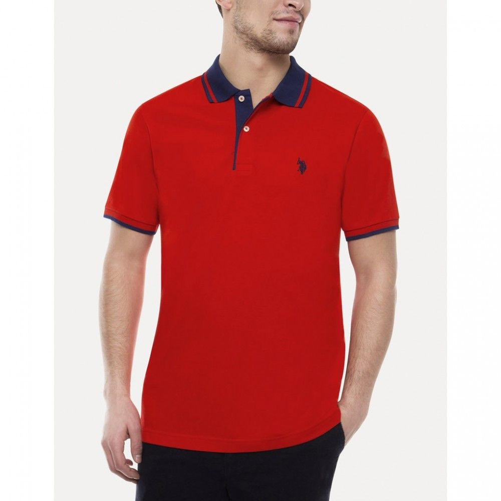 Tricou Polo US POLO ASSN Pique - Tricouri Barbati US POLO ASSN