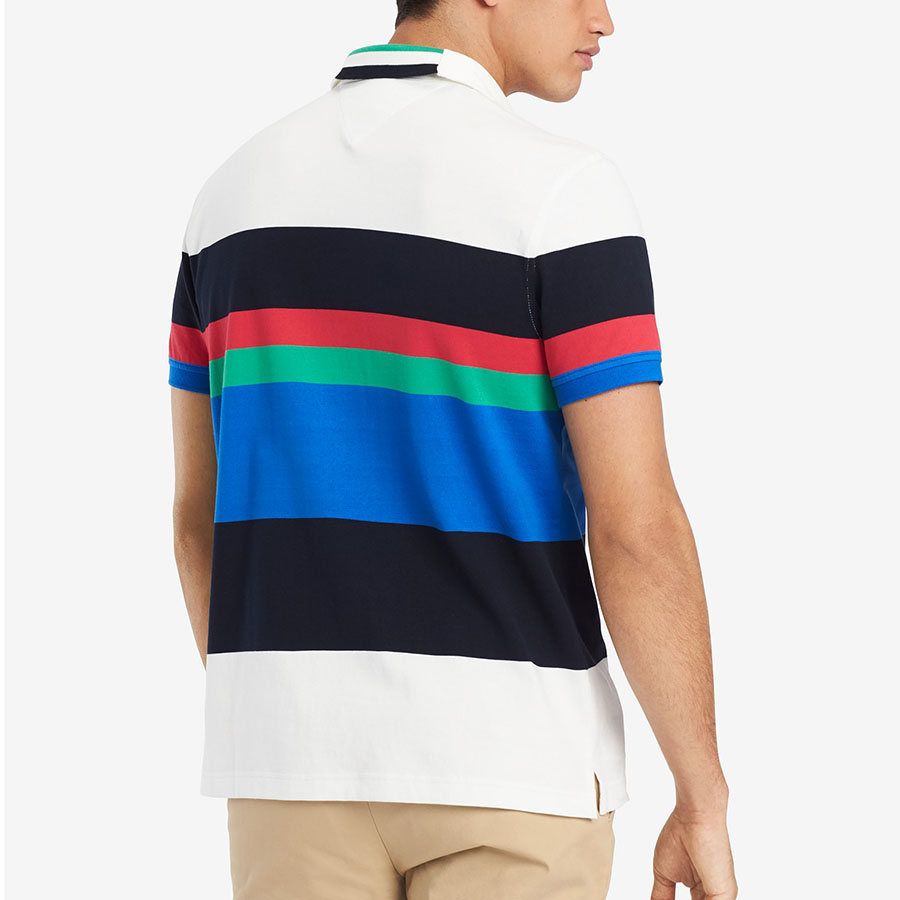 Tricou Polo TOMMY HILFIGER Color - Tricouri Barbati TOMMY HILFIGER