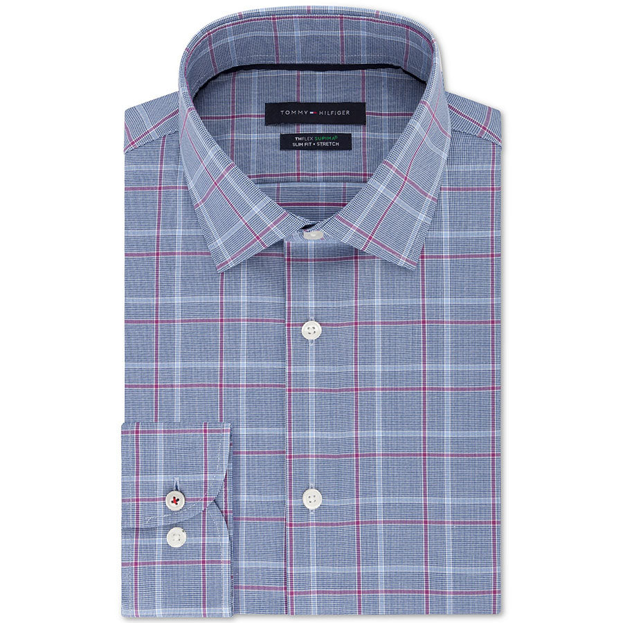 Camasa TOMMY HILFIGER Slim Fit Supima