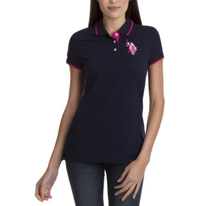 Tricou Polo US POLO ASSN Tonal - Tricouri Dama US POLO ASSN