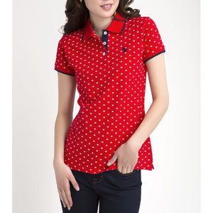 Tricou Polo US POLO ASSN Dots - Tricouri Dama US POLO ASSN