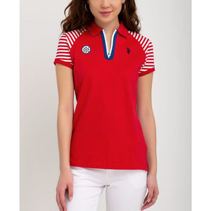 Tricou Polo US POLO ASSN Zipper