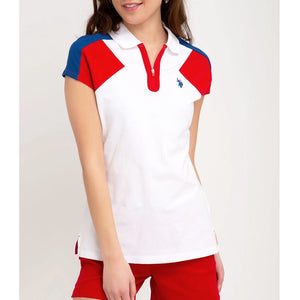 Tricou Dama Polo US POLO ASSN Zipper
