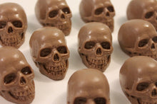 Chocolate Skulls, box of 8