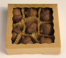 Acorn Chocolate Truffle with Hazelnut Ganache, box of 8