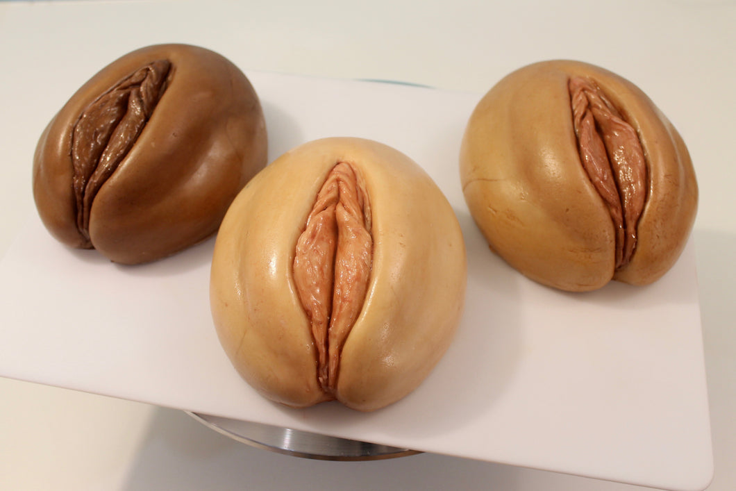 Vagina Cake with Bavarian Cream Filling