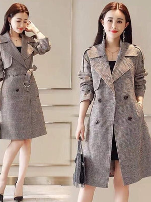 Coat - Classic Urban Chic Long