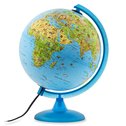 Safari Blue Oceans Safari Animals Globe
