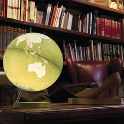 Light & Color Designer Series Globe Green, Desktop Globes, Waypoint Geographic - Waypoint Geographic