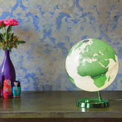 Light & Color Designer Series Globe Hot Green, Desktop Globes, Waypoint Geographic - Waypoint Geographic