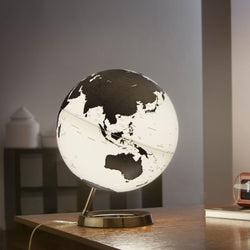Light & Color Designer Series Globe Charcoal, Desktop Globes, Waypoint Geographic - Waypoint Geographic