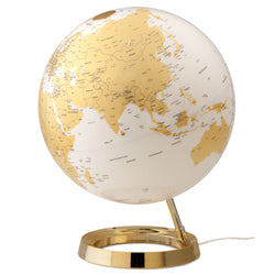 Light & Color Designer Series Globe Gold, Desktop Globes, Waypoint Geographic - Waypoint Geographic