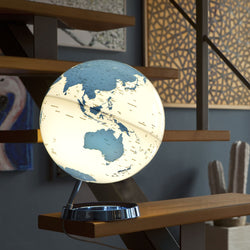 Light & Color Designer Series Globe Hot Blue, Desktop Globes, Waypoint Geographic - Waypoint Geographic