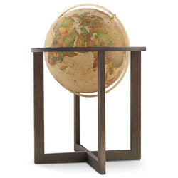 San Marino Globe (classic antique ocean), Floor Standing Globes, Waypoint Geographic - Waypoint Geographic