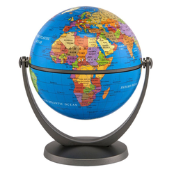 "GyroGlobe 4"" Educational Blue Oceans, Childrens Globe, Waypoint Geographic - Waypoint Geographic"