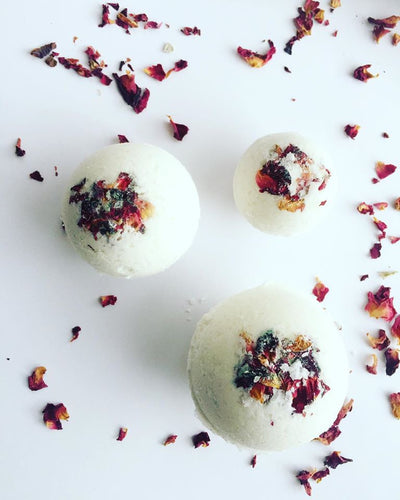 Luxury Lotus Bath Bombs