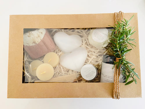 Luxury Selenite Heart Gift Box