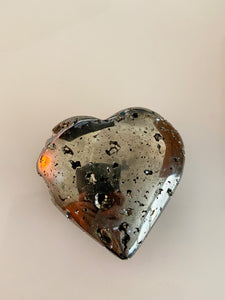 Luxury Pyrite Heart Gift Box