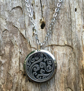 Aromatherapy/Essential Oil Diffuser locket necklace.