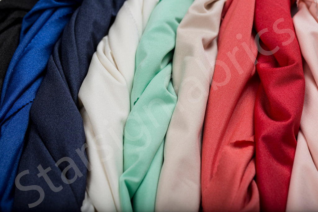 Knitted Dress Plain Lining Fabric