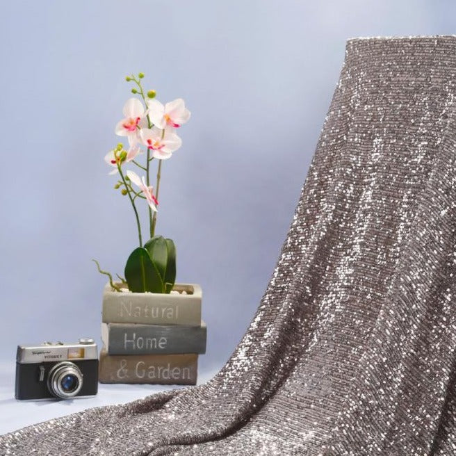 Stretch Sequin Fabric Chelsea Style