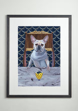 Artists' frame - Dog Art Prints and Originals – Faberge, Frenchie, French Bulldog - Diamond From Ruff by Selina Cassidy