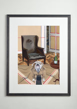 Artists' Choice frame - Dog Art Prints and Originals – Burberry, Bulldog - The Finest Hour by Selina Cassidy