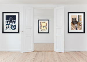 In-Situ Artwork - Dog Art Prints and Originals – Shih tzu, Pug, Bulldog Art – Collectors' Portfolio by Selina Cassidy