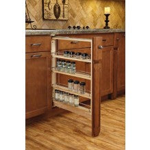 "3"" Base Filler Pullout w/Blum Soft Close - Royal Online Cabinets"