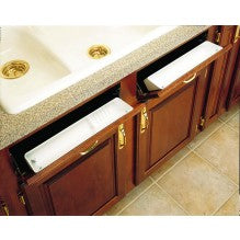 "14"" Tip-Out Tray Polymer 2 Tray Set with Hinges - Royal Online Cabinets"