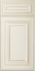 SD - Casselberry Antique White - Sample Door - Royal Online Cabinets