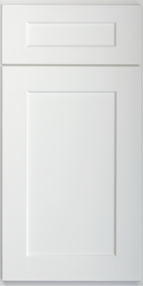 SD - Shaker White - Sample Door - Royal Online Cabinets