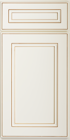 SD - York Antique White - Sample Door - Royal Online Cabinets