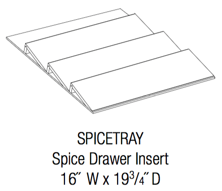 SPICETRAY - Royal Online Cabinets