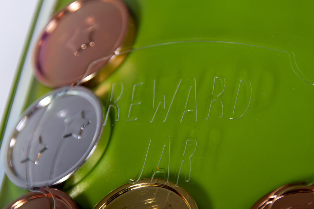 Magnetic Children's Reward Jar - GREEN