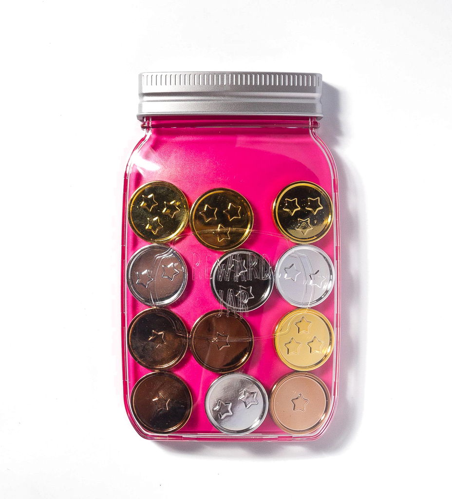 Magnetic Children's Reward Jar - PINK