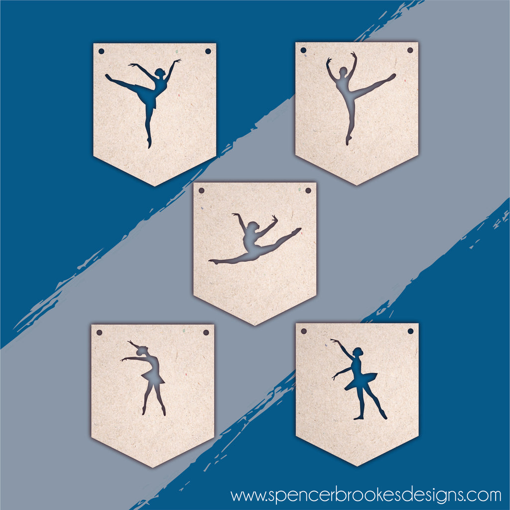 Ballet Flag Bunting