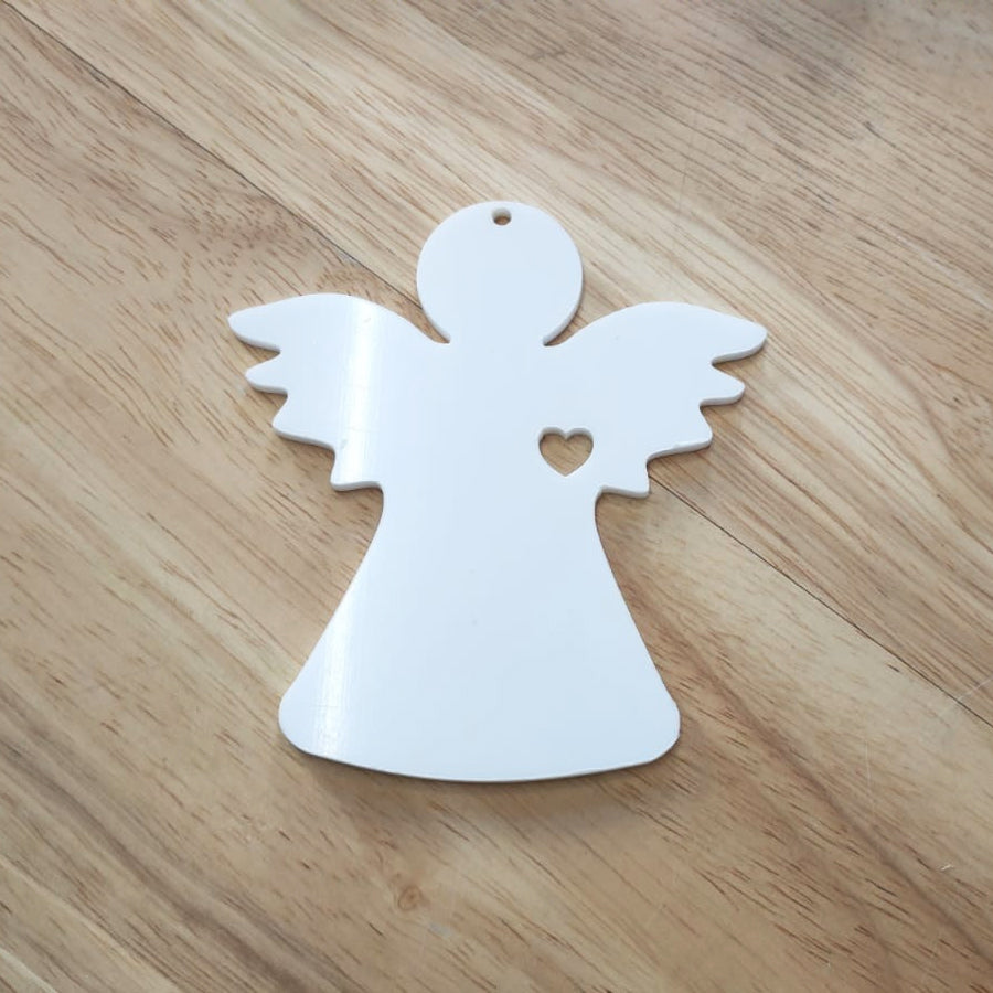 Acrylic Christmas Angel Bauble