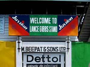 Australian Cricket Tours - Entrance To The Lance Gibbs Stands, Bourda Oval, Georgetown, Guyana