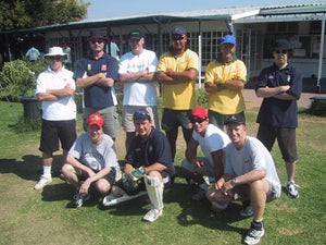 Australian Cricket Tours - Australian Media Team That Played South Africa Media In Johannesburg 2002