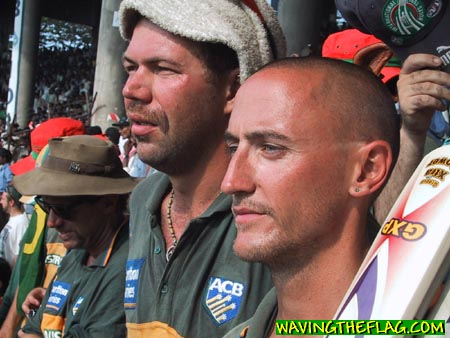 Australian Cricket Tours - Disappointment Is On The Faces Of Australian Supporters After The 3rd Test Between Australia And India, At Chidambaram Stadium, Chennai, 2001