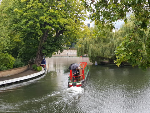 Australian Cricket Tours - Canal At Little Venice Near Lord's Cricket Ground During The Ashes Test Cricket Series 2019 | London | England