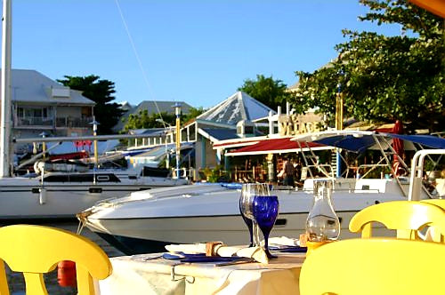 Australian Cricket Tours - The Flash And Glamour Of Restaurants And Yachts At The Marigot Marina, St Martin