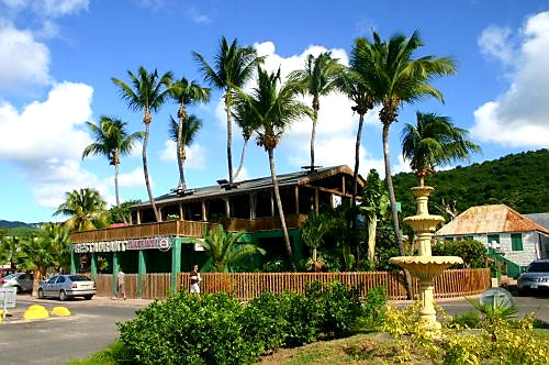 Australian Cricket Tours - The Palm Shaded And Cooling Architecture Of St Martin