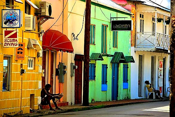 Australian Cricket Tours - The Colourful Homes Of Speightstown, Barbados